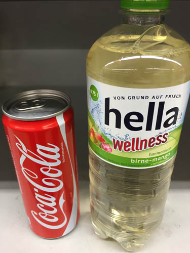 Cola vs. Wellnesswasser