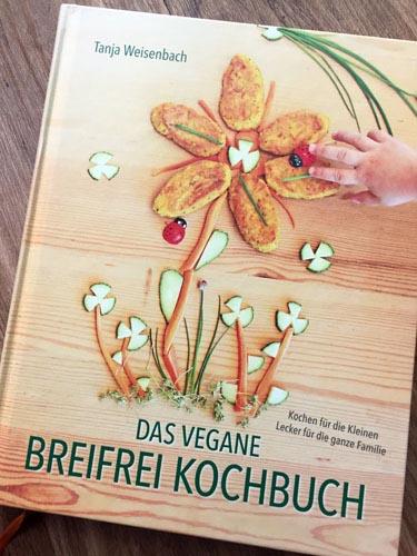 BUCHREZENSION: Das vegane breifrei Kochbuch (Tanja Weisenbach)