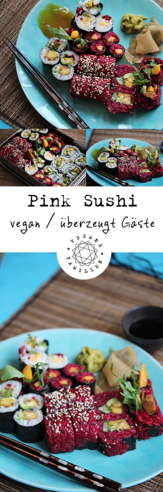 Pink Sushi vegan