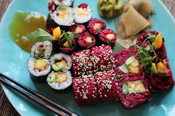 pink sushi das genialste rezept f r wilde vegane mamis ern hrungsberatung f r vegane familien. Black Bedroom Furniture Sets. Home Design Ideas