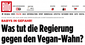 Vegane Kinder Presse