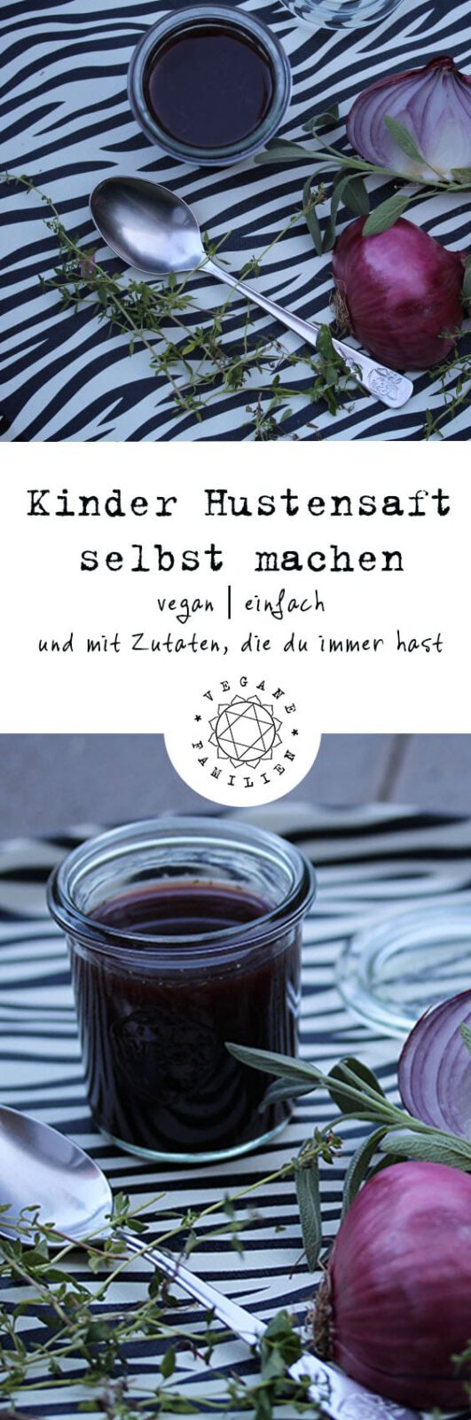 Kinder Hustensaft vegan