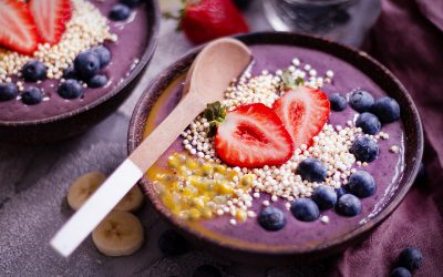 Beeren-Smoothie-Bowl von Simply Vegan