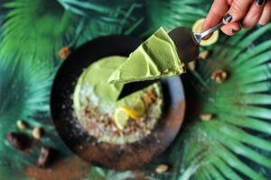 Mini Avocado Cheesecake Rezept Foto
