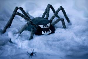 gruselige Spinne Halloween