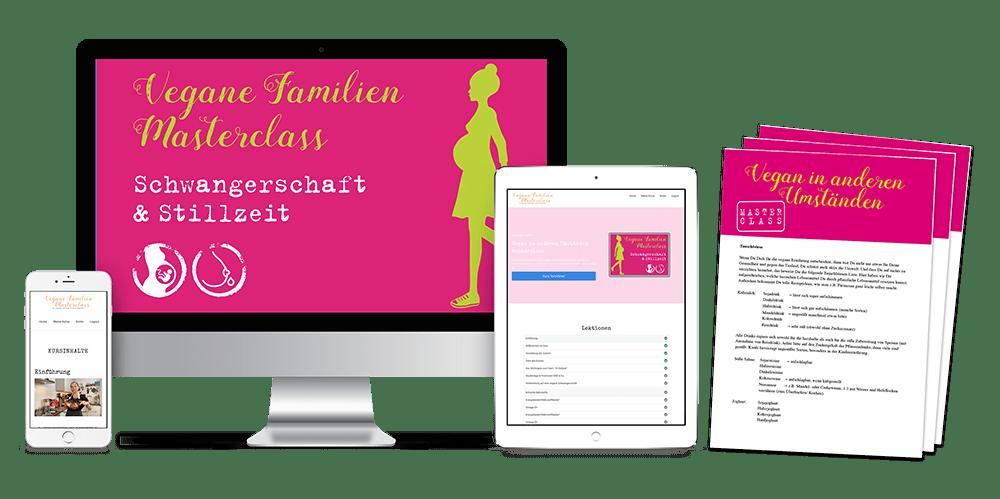 Online Kurs vegane Schwangerschaft