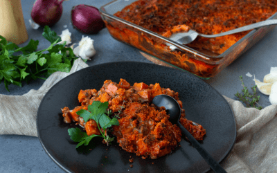 Tian de courge – Rezept provenzalischer Kürbistopf vegan