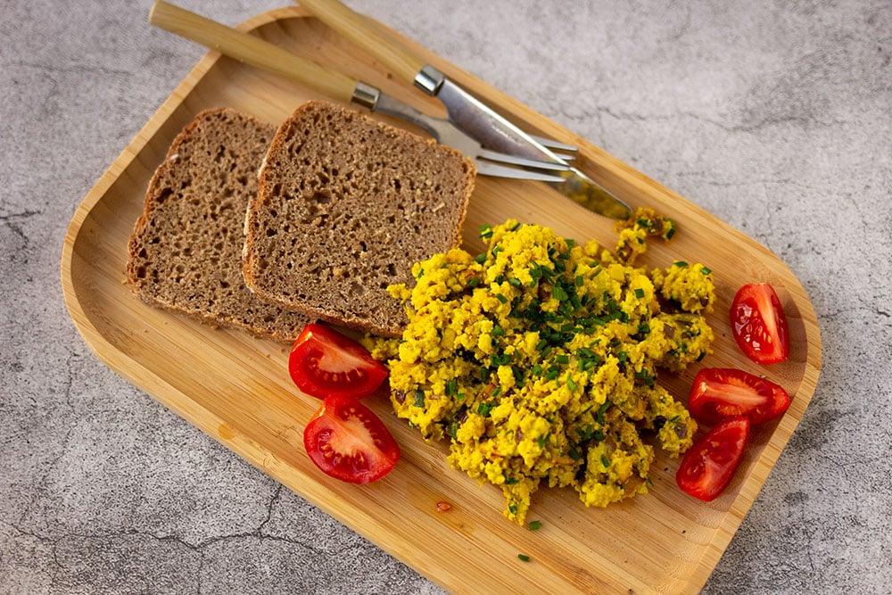 Rezept Rührtofu – veganes Rührei aus Tofu