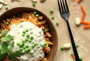 Protein Pasta Bowl Rezept vegan