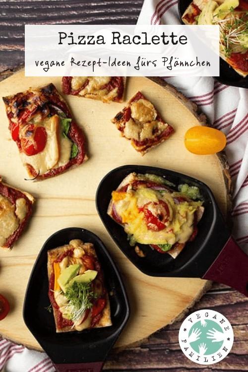 Pizza Raclette vegan